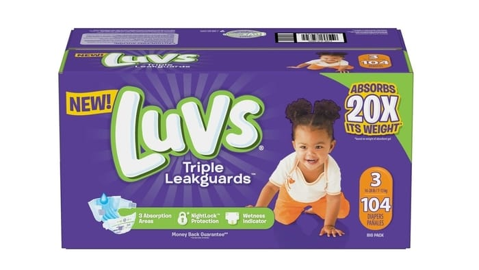Best Diaper Brands - Luvs
