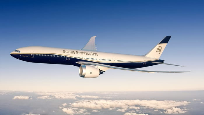 Top Business Jet Manufacturers - Boeing