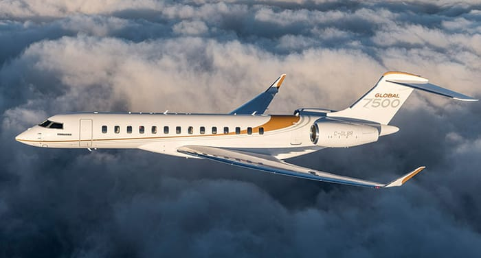 Top Business Jet Manufacturers - Bombardier Inc.