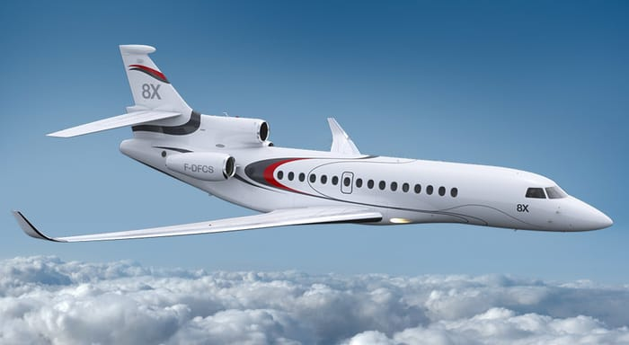Top Business Jet Manufacturers - Dassault Aviation
