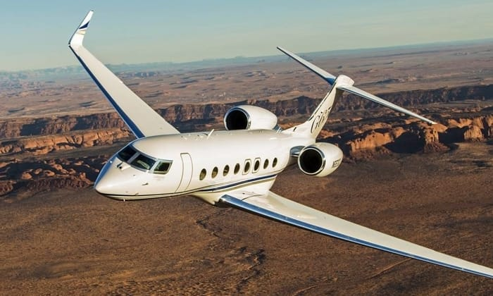 Top Business Jet Manufacturers - Gulfstream Aerospace