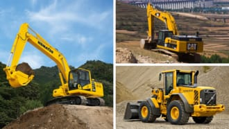 Top Construction Equipment Manufacturers