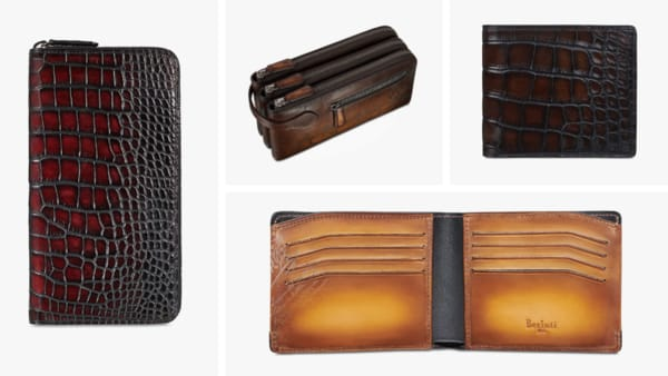 Berluti Luxury Leather Wallets