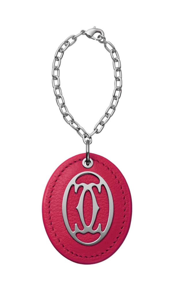 Best Luxury Keychains and Keyrings and Keyrings - C de CARTIER Collection Colored Key Ring