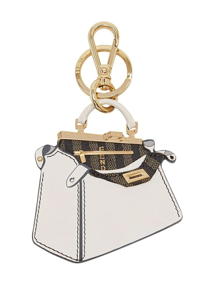 Best Luxury Keychains and Keyrings and Keyrings - FENDI Peekaboo handbag keyring