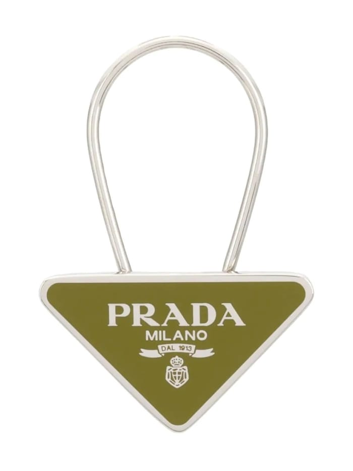 Best Luxury Keychains and Keyrings and Keyrings - PRADA logo keychain