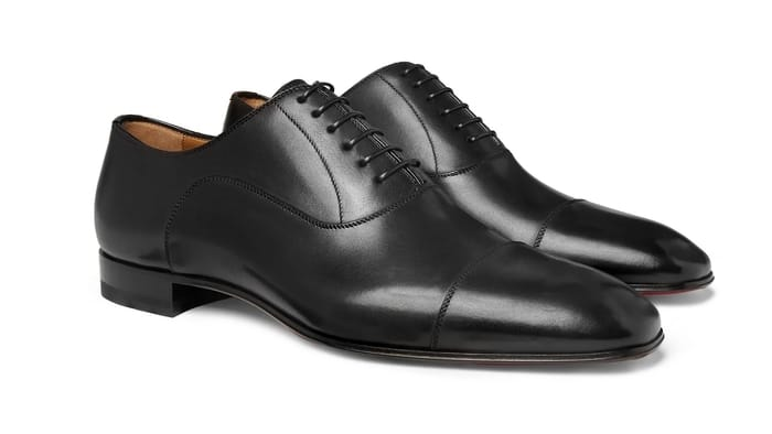 Best Luxury Oxford Shoes - Christian Louboutin Greggo Leather Oxford Shoes