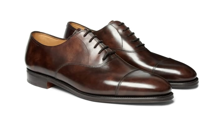 Best Luxury Oxford Shoes - John Lobb City II Burnished-Leather Oxford Shoes