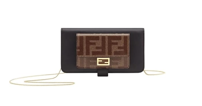 Best Luxury iPhone Cases - FENDI FF motif iPhone XS cover