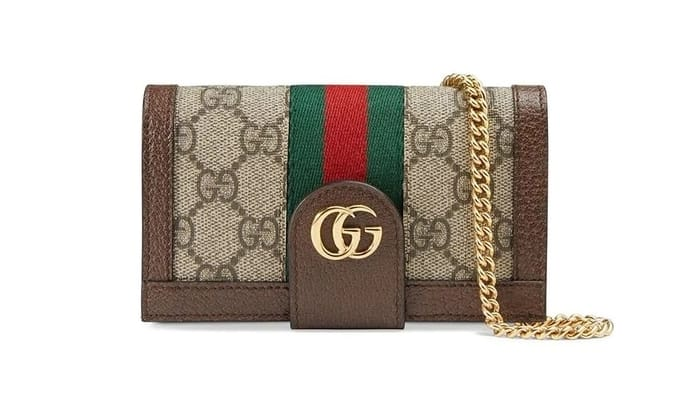 Best Luxury iPhone Cases - GUCCI Ophidia GG chain iPhone 7/8 case