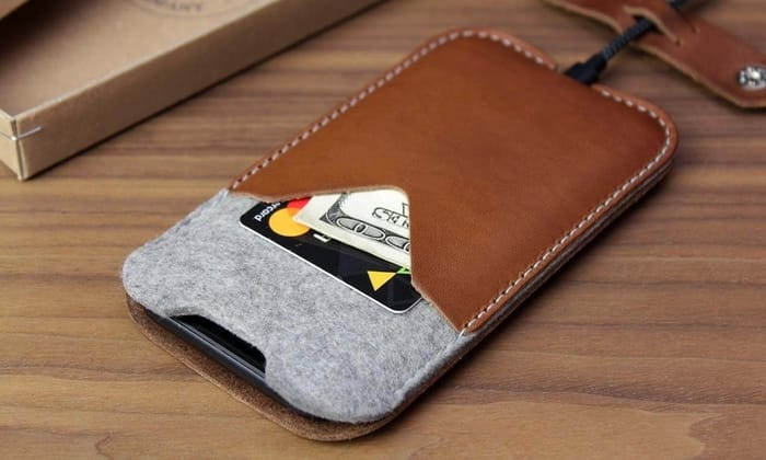 Best iPhone Sleeves - Pack & Smooch iPhone Leather Mobile Cover Kirkby
