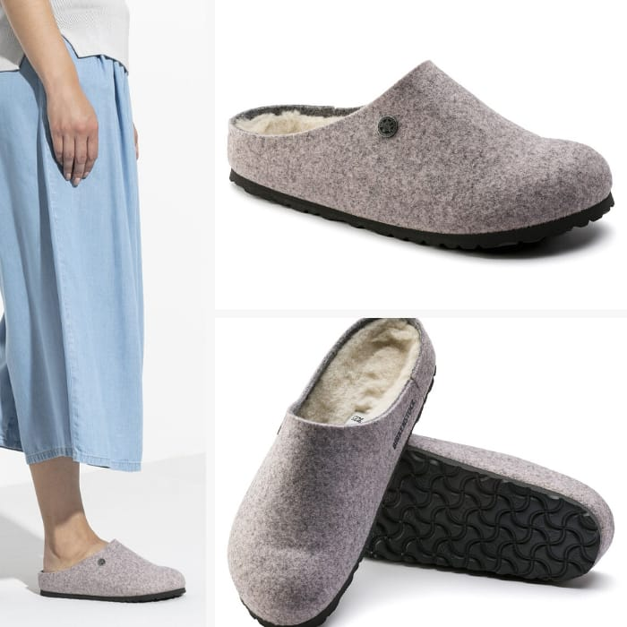 Birkenstock Slippers for Women - Kaprun Wool Felt