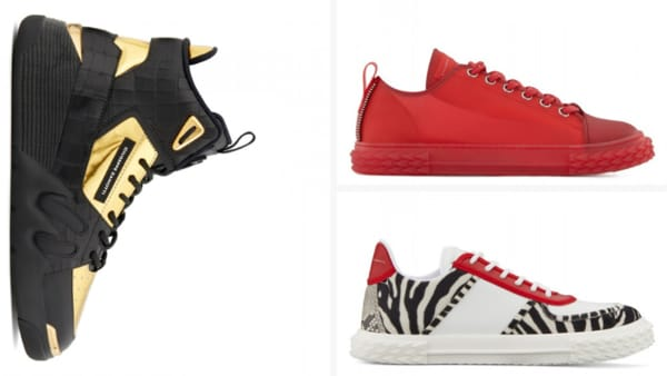 Giuseppe Zanotti Luxury Sneakers for Men