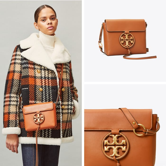 Tory Burch Handbags - Miller Metal-Logo Crossbody