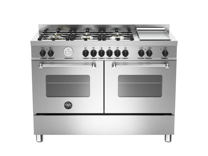 Bertazzoni Master Series 120 cm 6-burners + griddle, Electric Double Oven