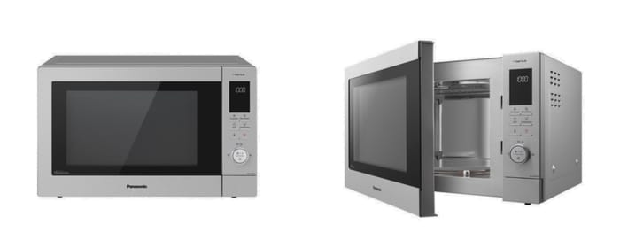 Best Microwave Ovens - Panasonic 34L Inverter Stainless Steel 3-in-1 Combi Microwave with Genius Sensor NN-CD87KS