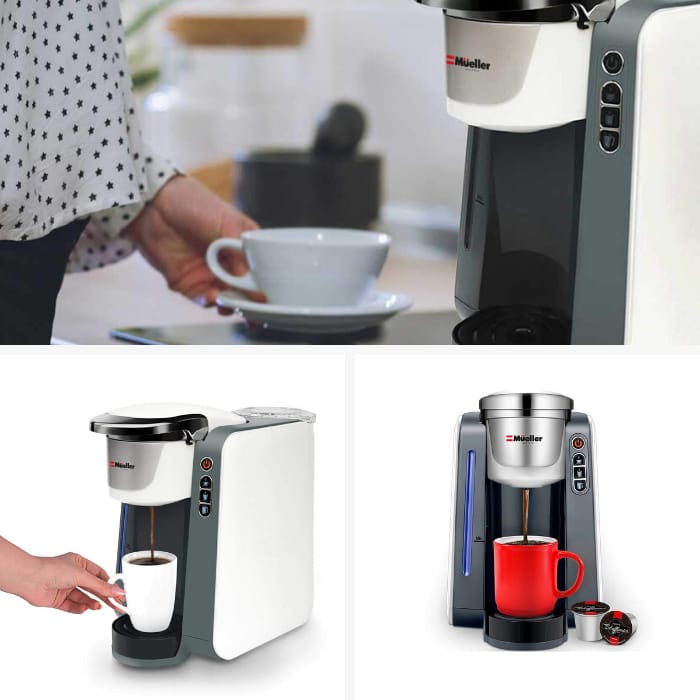 Best Single Serve Coffee Makers - Mueller Ultima Single Serve Pod Compatible Coffee Maker Machine