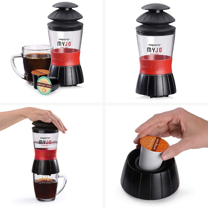 Best Single Serve Coffee Makers - Presto MyJo Single Cup Coffee Maker
