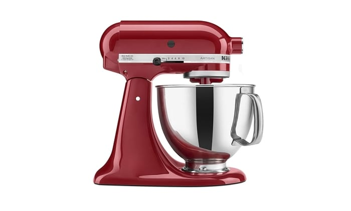 Best Stand Mixers - KitchenAid KSM150PSER Artisan Series 5 Quart Tilt-Head Stand Mixer