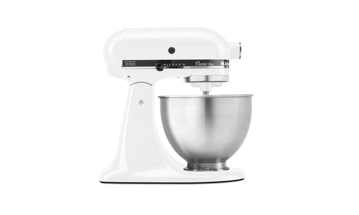 Best Stand Mixers - KitchenAid KSM75WH Classic Plus Series 4.5 Quart Tilt-Head Stand Mixer