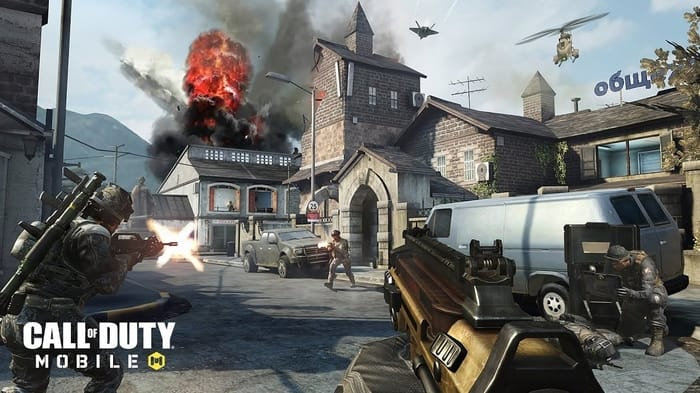 Best Battle Royale Games for Android - Call Of Duty Mobile