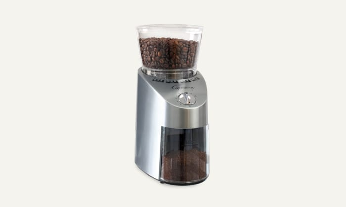 Best Coffee Grinders - Capresso Infinity Conical Stainless Steel Burr Grinder