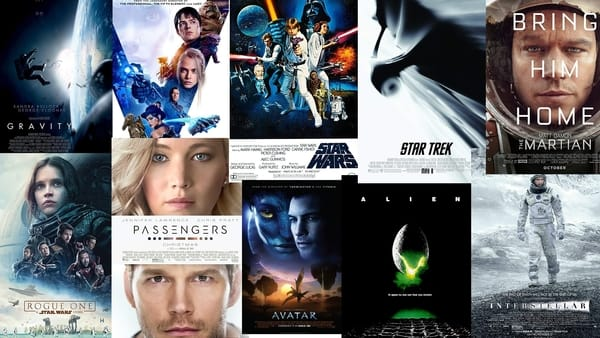 Best Space Movies of All Time