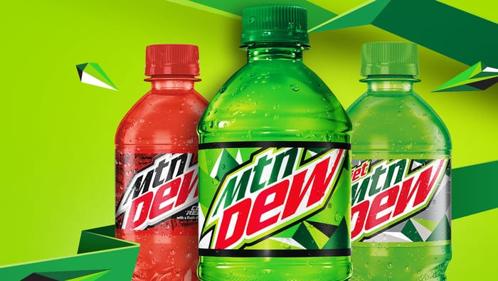 Top Soft Drink Brands - Mountain Dew
