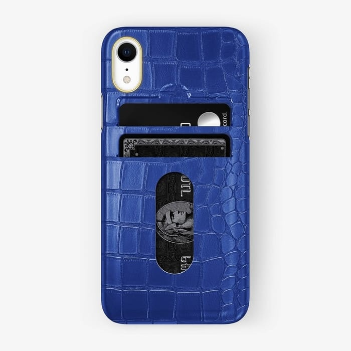 Hadoro Alligator iPhone Card Holder Case