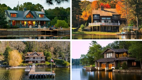 Stunning Lake Houses