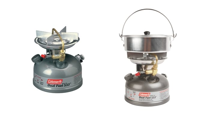 Best Coleman Camping Stoves - Guide Series Compact Dual Fuel Stove
