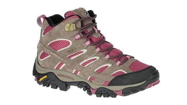 Best Hiking Boots for Women - Merrell Women's Moab 2 Mid Waterproof