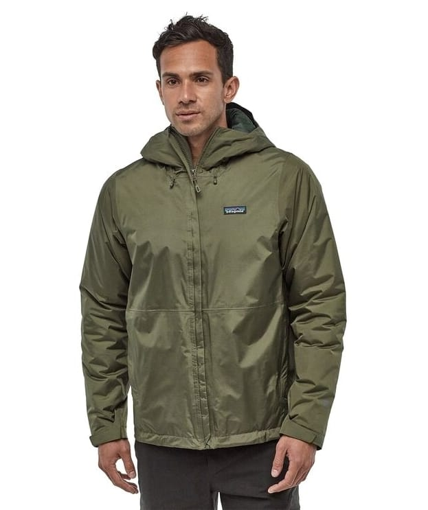 Best Hiking Jackets for Men - Patagonia Men's Insulated Torrentshell Jacket