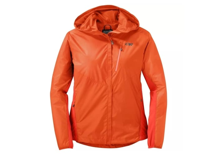 Best Rain Jackets for Women - Outdoor Research Helium Hybrid Hooded Jacket