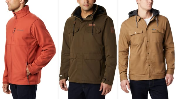Columbia Casual Jackets for Men