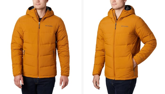 Columbia Casual Jackets for Men - Men's Lone Fir 650 TurboDown Hooded Jacket