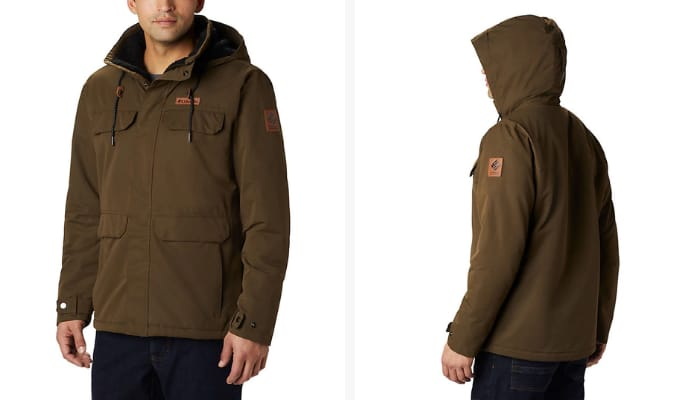 Columbia Casual Jackets for Men - Men's South Canyon Lined Insulated Jacket