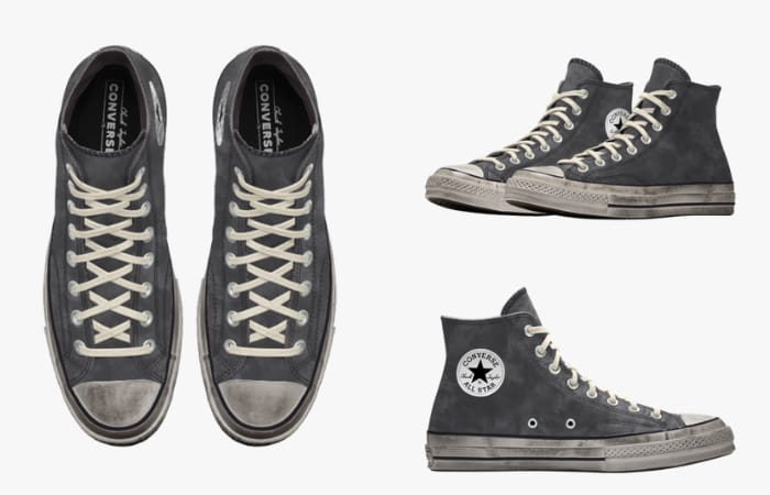 Converse Chuck 70 for Women - Converse Custom Chuck 70 Washed Canvas High Top