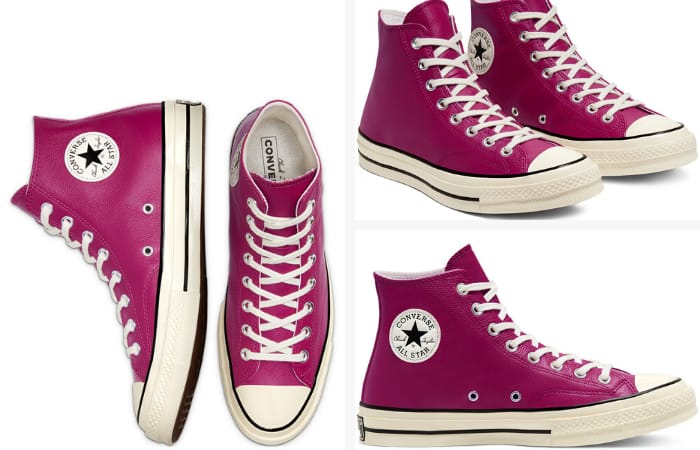 Converse Chuck 70 for Women - Converse Unisex Seasonal Colour Leather Chuck 70 High Top