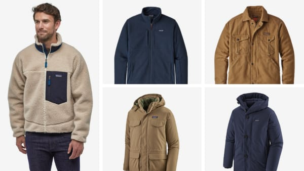 Patagonia Casual Jackets for Men