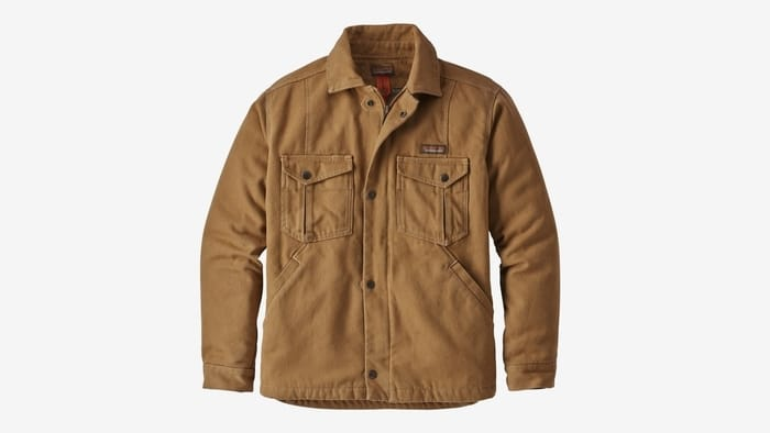 Patagonia Casual Jackets for Men - Men's Iron Forge Hemp Canvas Ranch Jacket