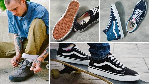 mens shoes like vans