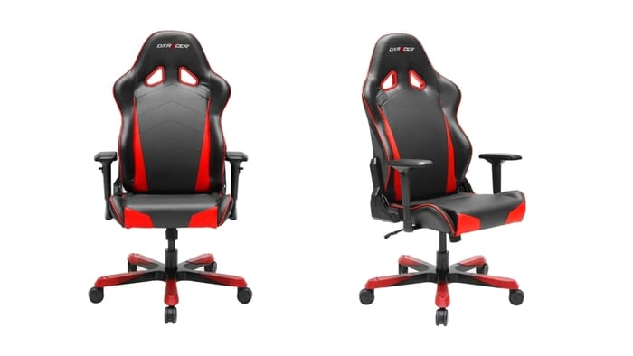 Best Gaming Chairs - DXRacer Tank Series Heavy Duty PU Leather Recliner Gaming Chair