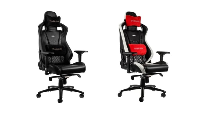 Best Gaming Chairs - noblechairs Epic Real Leather