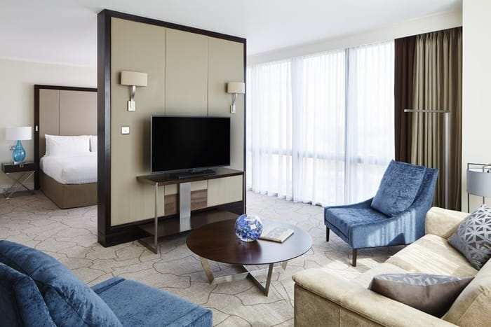 Best Business Hotels in London - London Marriott Hotel Canary Wharf