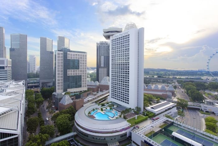 Best Business Hotels in Singapore - Pan Pacific Singapore