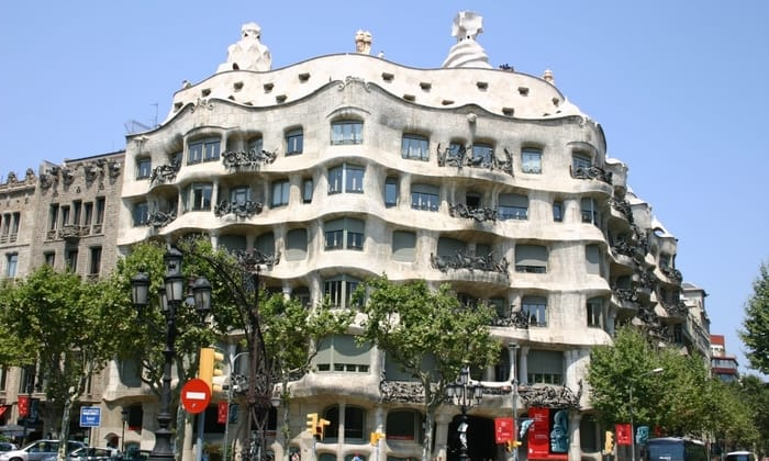 Best Places to Visit in Barcelona - Casa Mila