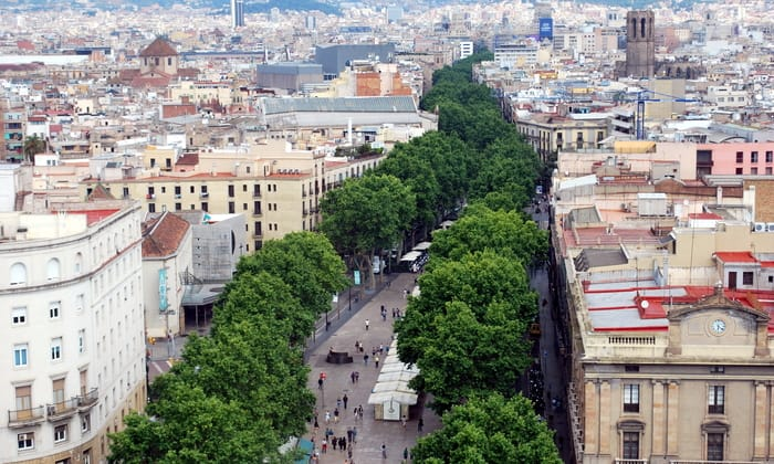 Best Places to Visit in Barcelona - La Rambla