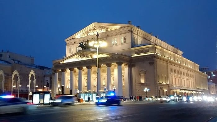 Best Places to Visit in Moscow - Bolshoi Theatre