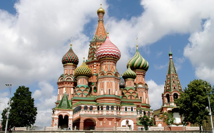 Best Places to Visit in Moscow - St. Basil's Cathedral